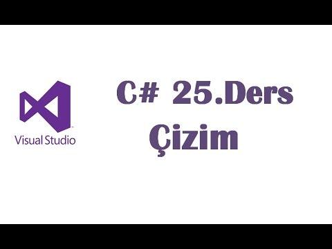 C# 25.Ders - Çizim