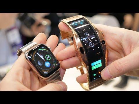 Гибкий смартфон-часы уже продаются