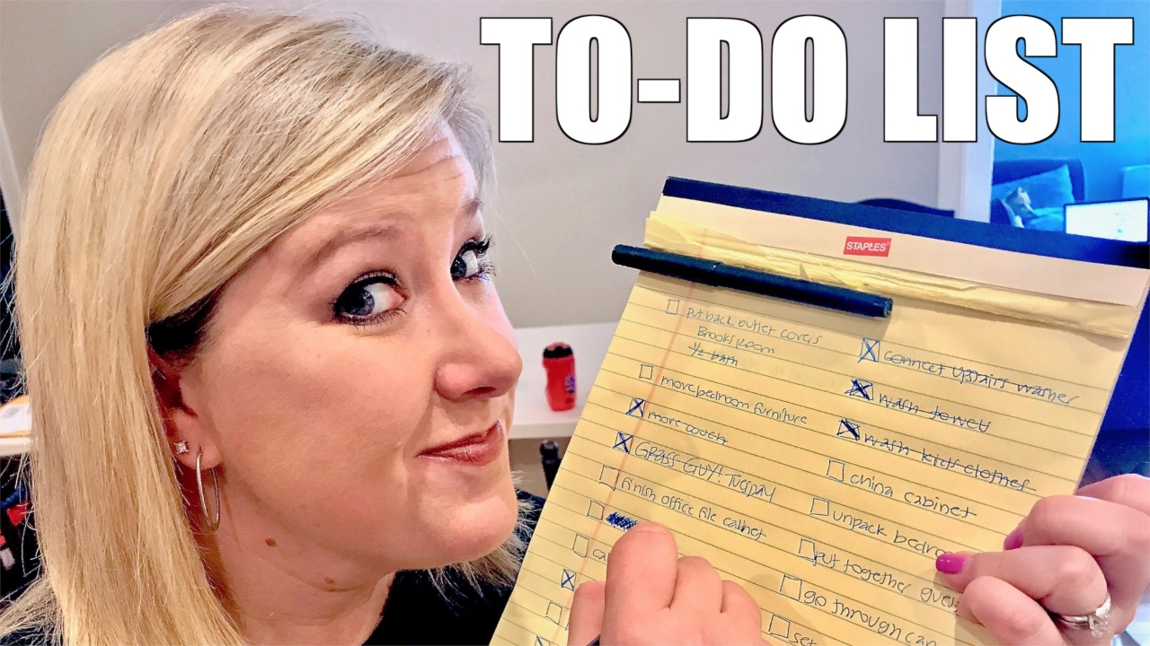 New house priorities making a to do list easier youtube for New home to do list