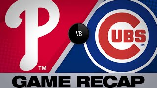 5/21/19: Baez's walk-off single gives Cubs 3-2 win