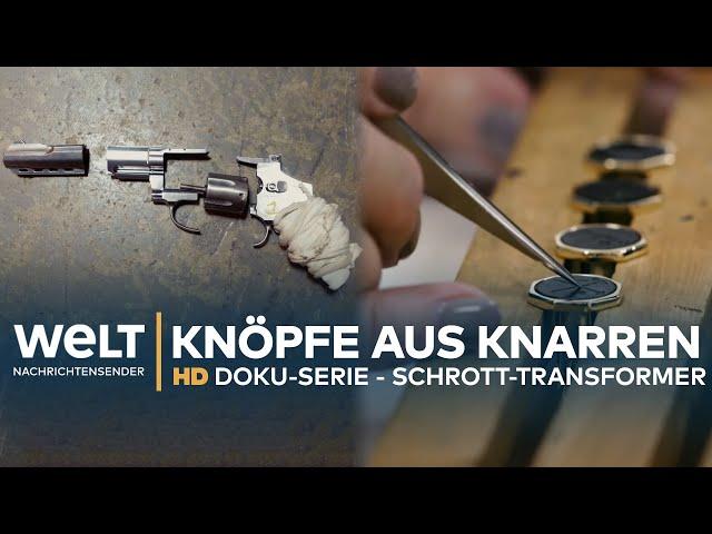 Knöpfe aus Knarren - Die Schrott-Transformer (6)   HD Doku