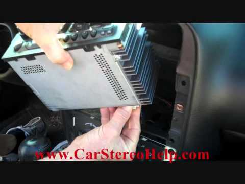 How To Chevrolet Camaro Bose Stereo Removal 1997 - 2002 Replace