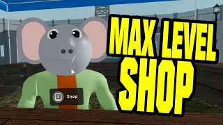ROBLOX PIGGY MAX LEVEL SHOP - PIGGY OPEN WORLD GAME