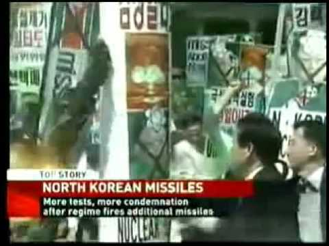 North Korea Fires 2 Missiles From East Coast - latest update