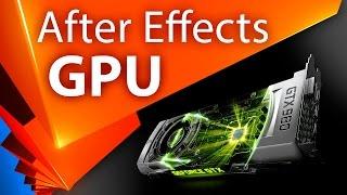 GPU ускорение в After Effects (CUDA и OpenGL). Миф или реальность? - AEplug 070