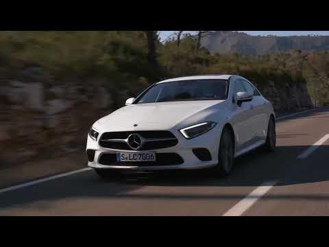 2019 NEW Mercedes-Benz CLS 350d 4MATIC Driving Scenes  Debut
