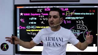 Köklü Sayılar 1(Köklü Sayıların Tanım Aralığı) I Ali Ahsen Akti