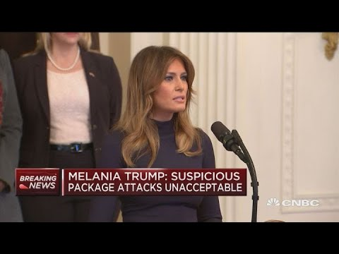 First Lady Melania Trump on fighting opioid addiction
