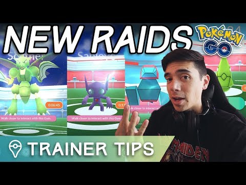 WEIRD NEW RAID BOSSES IN POKÉMON GO