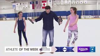 Athlete of the Week: Figure skating sisters Delaney Ross & Peyton Ross