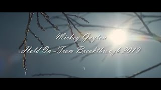 "Mickey Guyton - Hold On (From ""Breakthrough"") [Lyric Video]"
