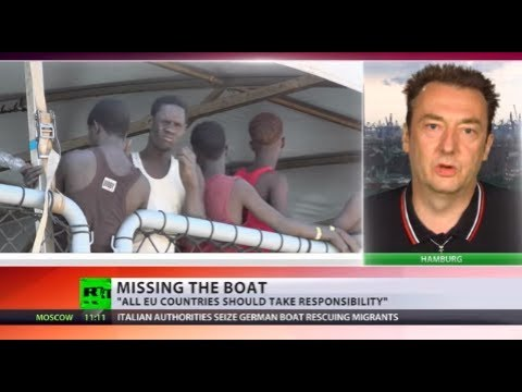 Libyan Migrant Smugglers: Italy seizes German rescue boat in immigration probe