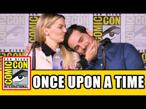 ONCE UPON A TIME Season 6 Comic Con Panel Highlights (Part 1) - Lana Parrilla, Jennifer Morrison