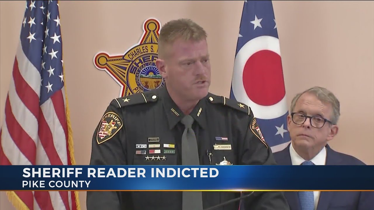 Pike County Sheriff Charles Reader indicted on theft in office, tampering  with evidence charges