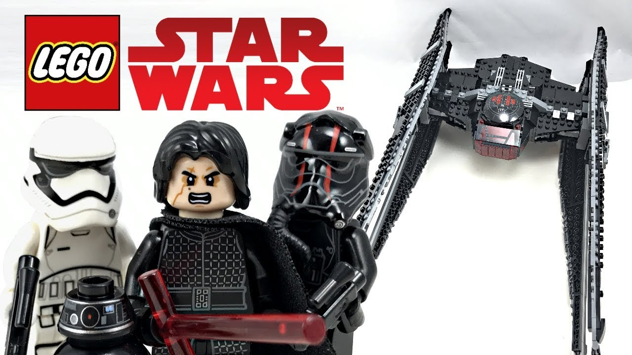 Lego star wars the last jedi kylo rens tie fighter review 2017 set 75179
