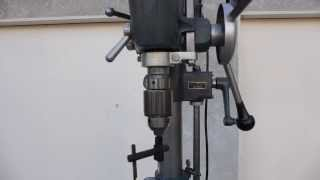 Craftsman Drill Press Model 103.23141 With Vari-slo And Table Lift Walk-around Part 1