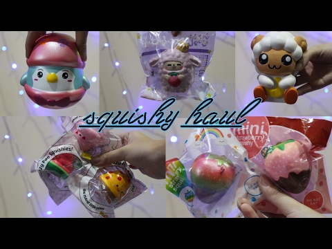 Squishy Vlog : SQUISHY HAUL +vlog // UNPRF SQUISHY - YouTube