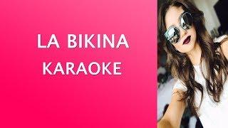 La Bikina - Karaoke Version - Letra