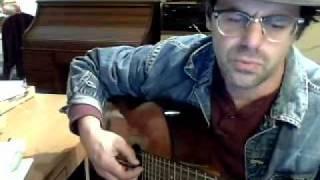 "Jim Fabris sings ""Hard Travelin"