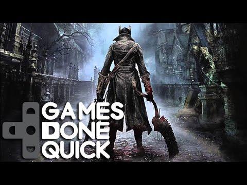 Speedrunning Bloodborne With Games Done Quick Youtube