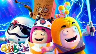 ODDBODS | Best Episodes Of 2020 - 1 Hour Special | Cartoons For Kids