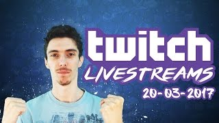 TWITCH LIVESTREAMS 20-03-2017 - Football Manager 2017 / FIFA 17