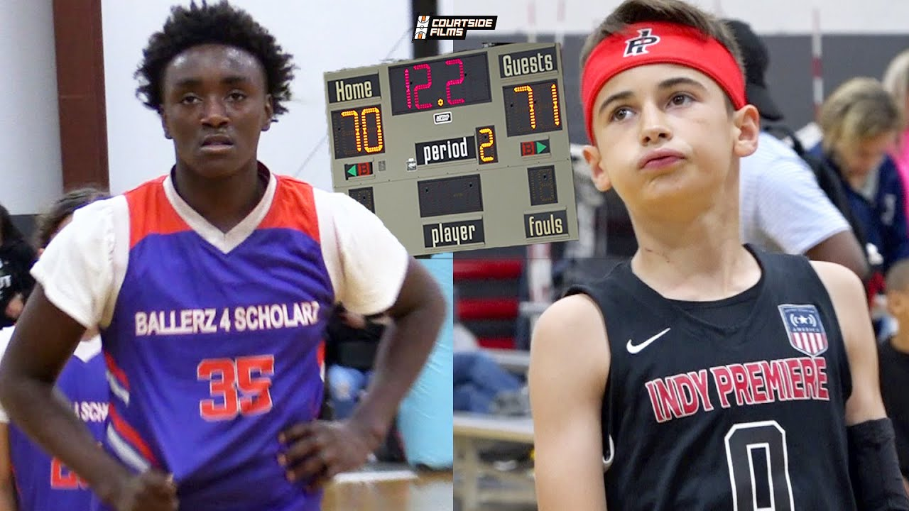 5th Grader Austin Sears and Premiere Get TESTED By TOUGH Indiana Squad!!