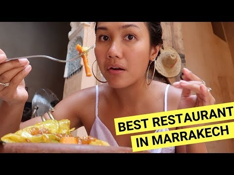 MOROCCAN FOOD In MARRAKECH! What To Eat + Trying Hammam (Spa)