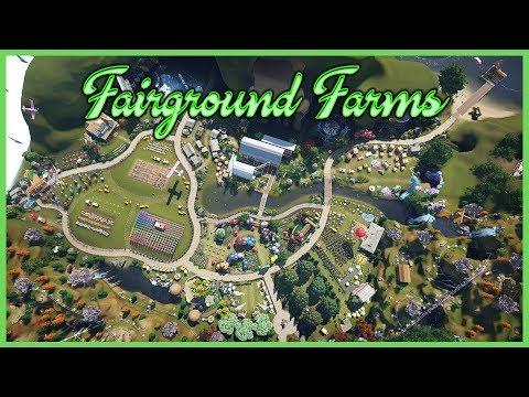 Fairground Farms! Park Spotlight 125 #PlanetCoaster