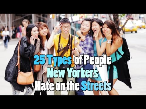 25 Types of People on the Streets