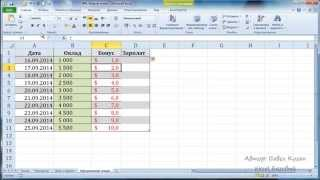 Курс Excel_Базовый - Урок №6. Форматирование таблиц