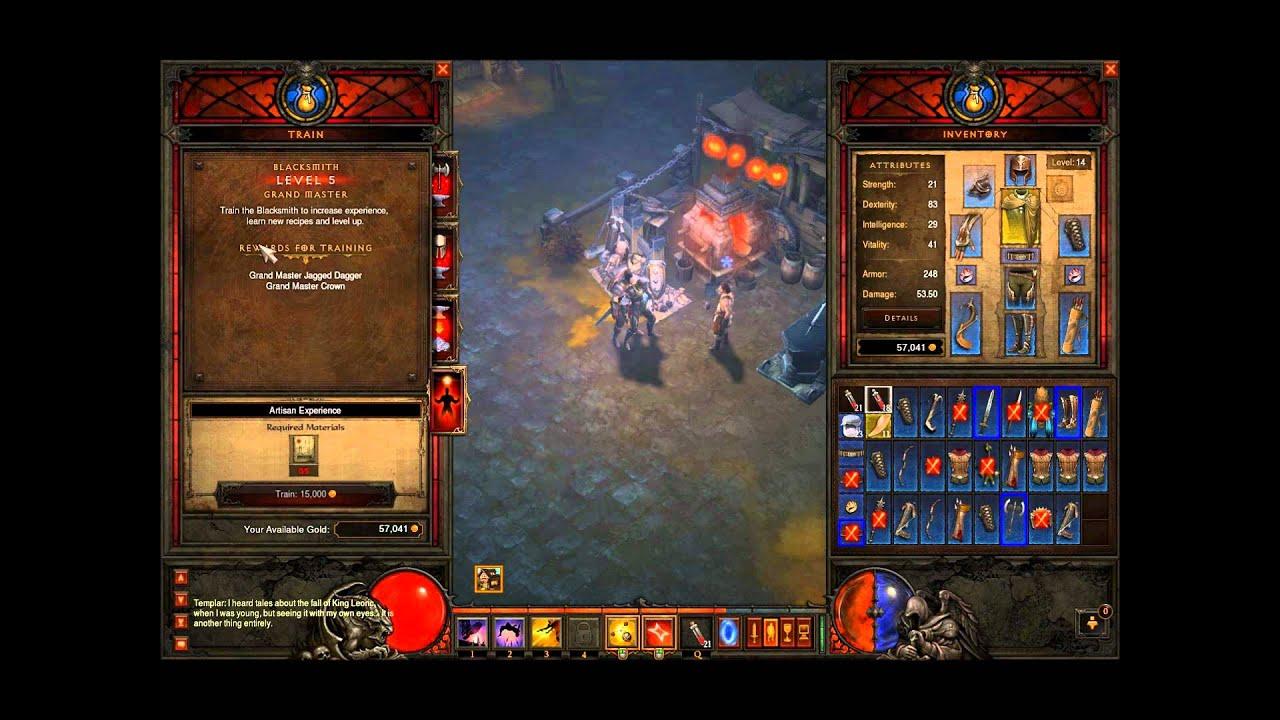 Diablo 3 (BETA) - Demon Hunter Walkthrough - Part 1 - YouTube