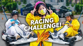 FIRST To FINISH The Race Wins CASH PRIZE!! (Ang bilis!) | Ranz and Niana