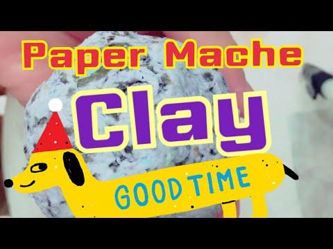 Paper Mache Clay Newspaper or Shredded Paper The Easy Original Recipe