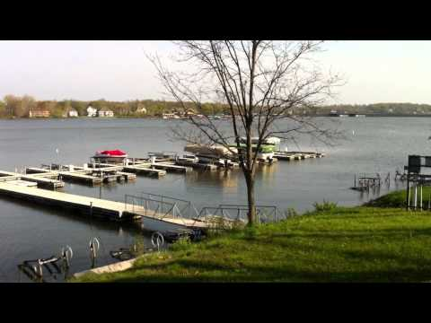 Admirals Bay Waterfront and Deeded Boat Dock area at Geist Reservoir