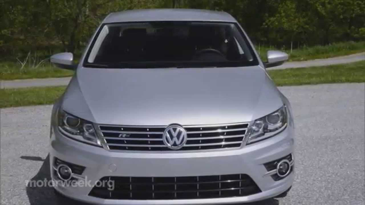 motorweek quick spin 2015 volkswagen cc r line youtube. Black Bedroom Furniture Sets. Home Design Ideas
