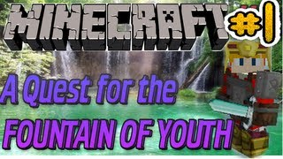 WHY BOATS! : A Quest For The FOUNTAIN OF YOUTH - Part 1 - MineCraft Custom Map