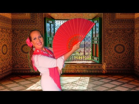 Tanzen mit dem Flamencofächer - The Flamenco Fan - Basic Lesson For Beginner