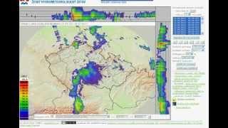 Czech republic radar concentric circles and beam anomalies 8/21/12 @ 5:15 UTC