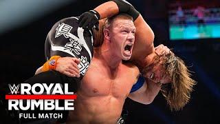 FULL MATCH - AJ Styles vs. John Cena - WWE Championship Match: Royal Rumble 2017