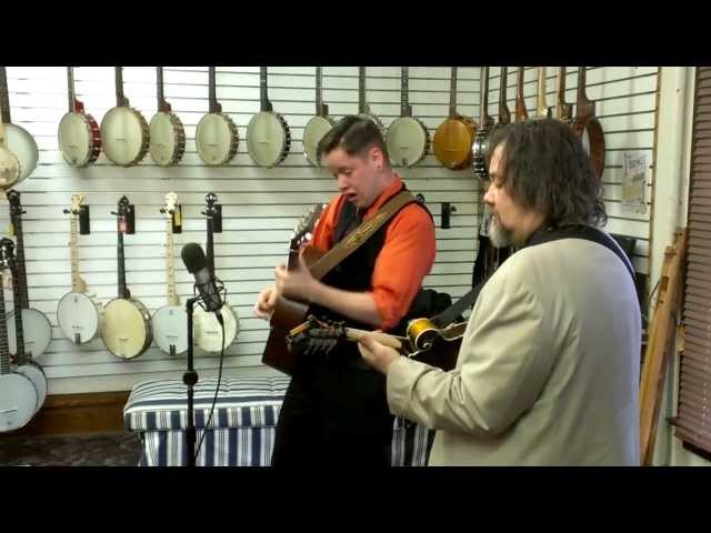 Don Julin & Billy Strings at Elderly Instruments
