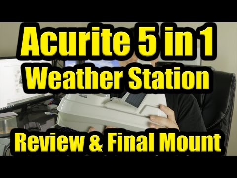 Acurite 5 in 1 Weather Station & Smart Hub - Review & Install