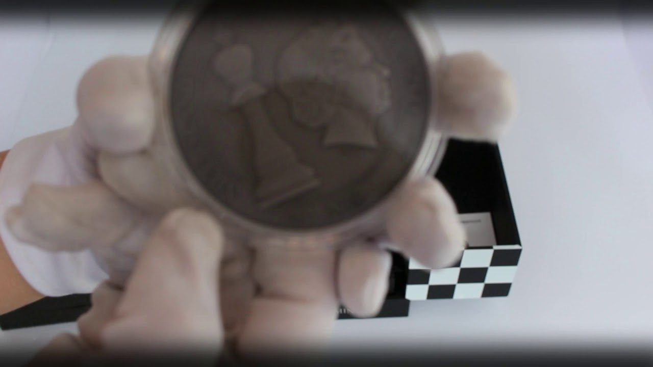 UNBOXING - 2 oz Niue Chess Board Game Antique Silver Coin Set - By ARTMINT