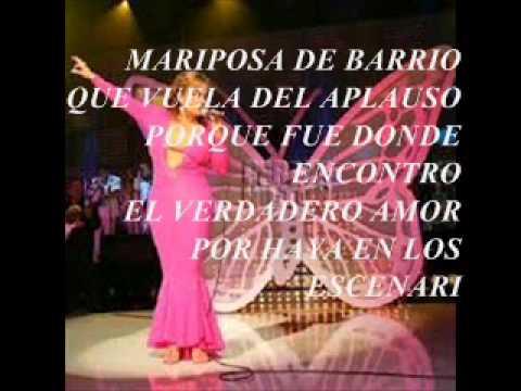 Mariposa De Barrio Letra Jenny Rivera Youtube