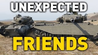 World of Tanks || T54E1 - Unexpected Friends