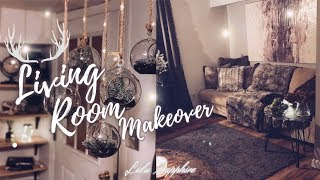 Living Room Makeover - Room Makeover and Tour 2019