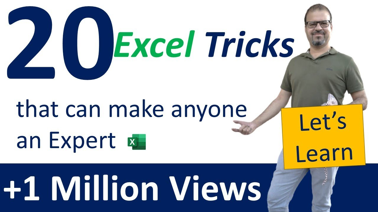 Excel Tutorial | 20 Tricks & Shortcuts That Can Make Anyone An Excel Expert