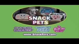Toy Commercial 2015 - Snack Pets - Make Lunch Time Fun Time And Keep Food Cold And Fresh