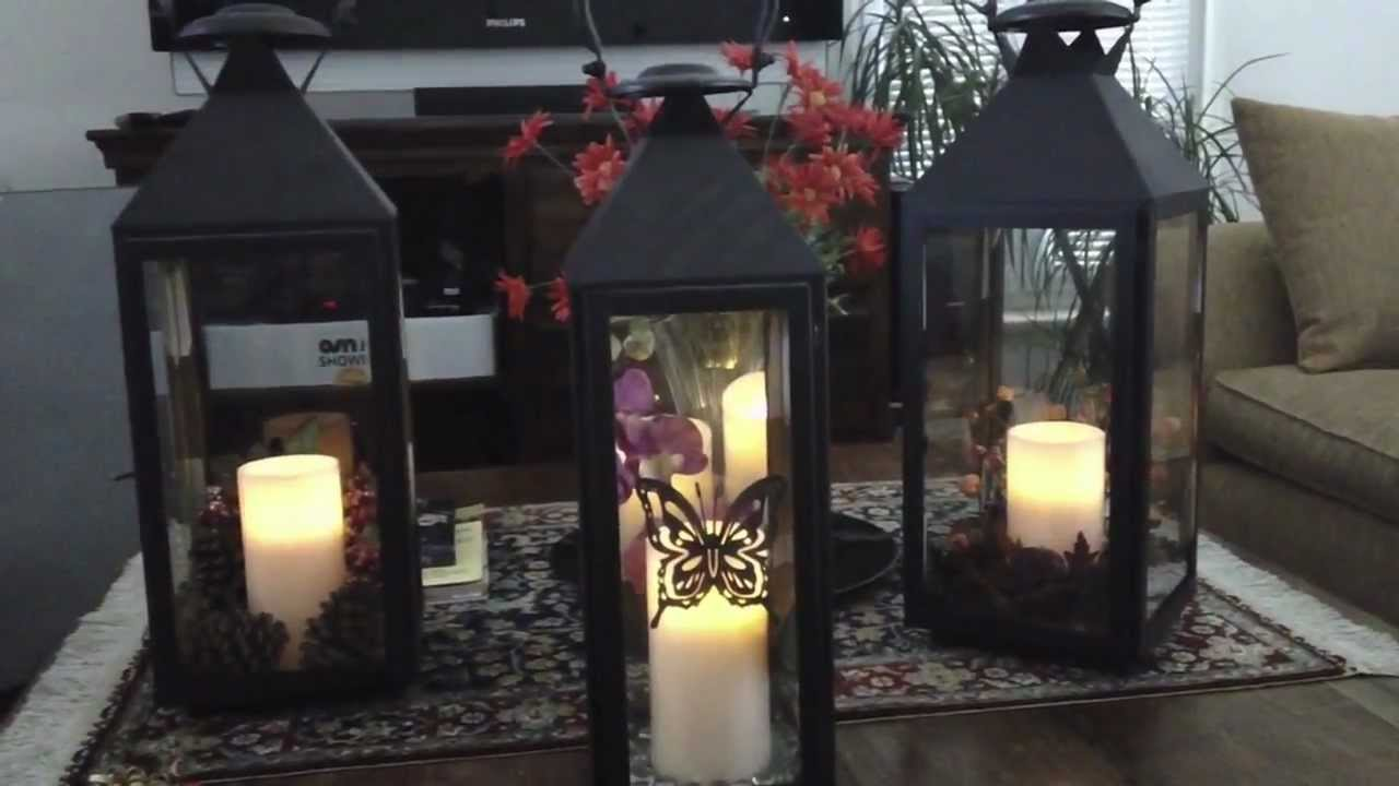 Decorating with lanterns for every season youtube for Indoor decoration ideas