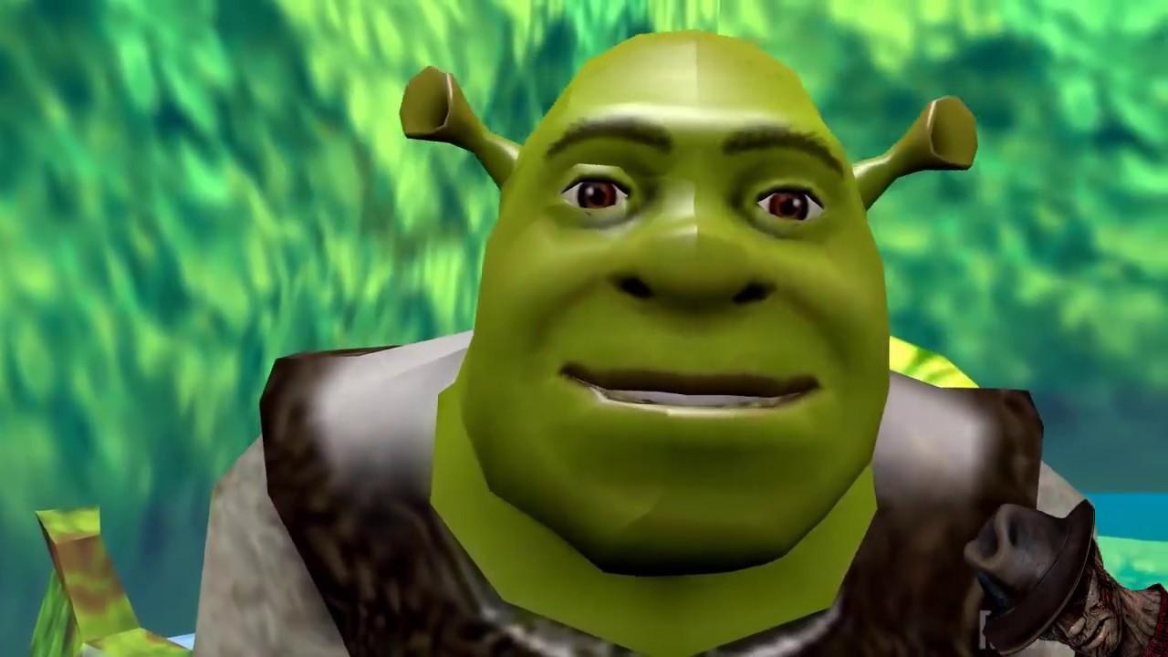 Shrek Vs Thanos Despacito Battle Youtube